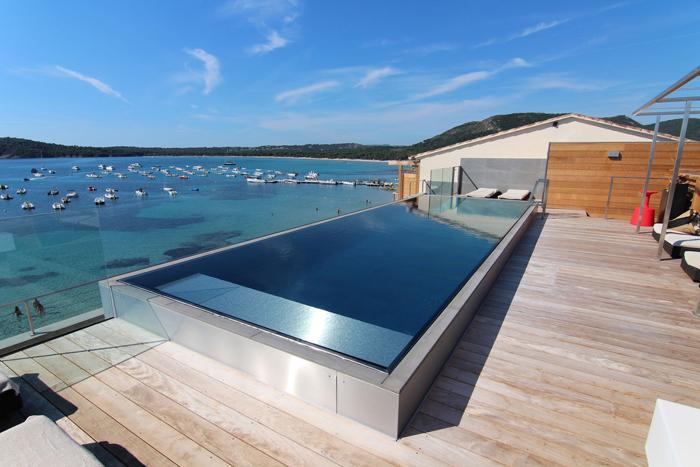 piscine inox débordement bordeaux